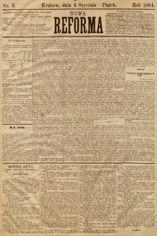 Nowa Reforma. 1884, nr3
