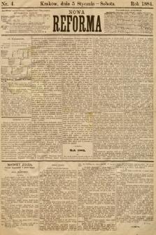 Nowa Reforma. 1884, nr4