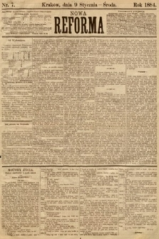 Nowa Reforma. 1884, nr7