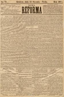 Nowa Reforma. 1884, nr19