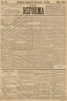 Nowa Reforma. 1884, nr25