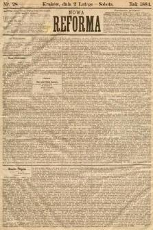 Nowa Reforma. 1884, nr28