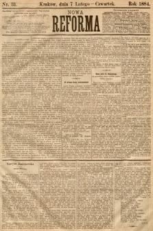 Nowa Reforma. 1884, nr31