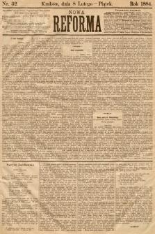 Nowa Reforma. 1884, nr32