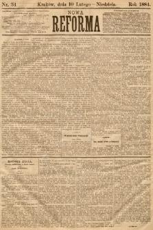 Nowa Reforma. 1884, nr34