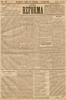 Nowa Reforma. 1884, nr37