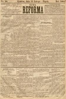 Nowa Reforma. 1884, nr38
