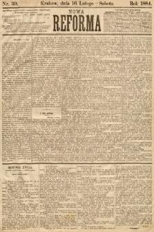 Nowa Reforma. 1884, nr39