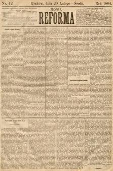 Nowa Reforma. 1884, nr42