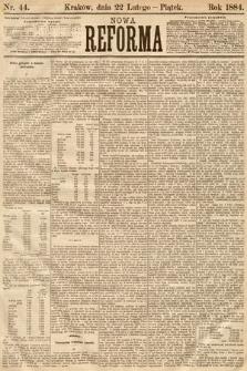 Nowa Reforma. 1884, nr44