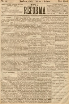 Nowa Reforma. 1884, nr51