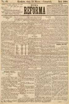 Nowa Reforma. 1884, nr61
