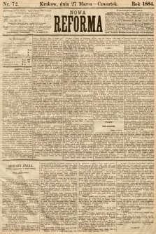 Nowa Reforma. 1884, nr72