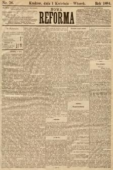 Nowa Reforma. 1884, nr76