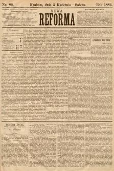 Nowa Reforma. 1884, nr80
