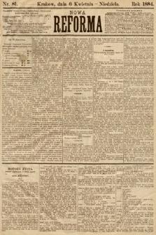 Nowa Reforma. 1884, nr81