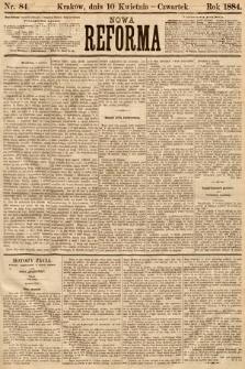Nowa Reforma. 1884, nr84