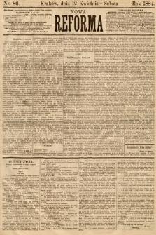 Nowa Reforma. 1884, nr86