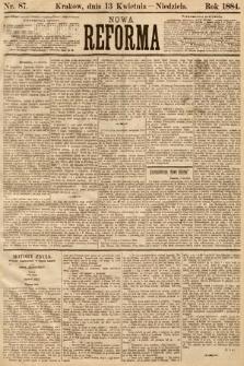 Nowa Reforma. 1884, nr87