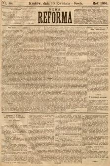 Nowa Reforma. 1884, nr88