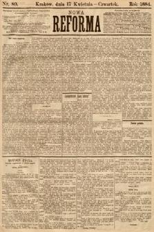 Nowa Reforma. 1884, nr89