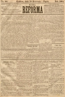 Nowa Reforma. 1884, nr90