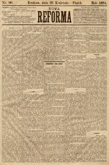 Nowa Reforma. 1884, nr96