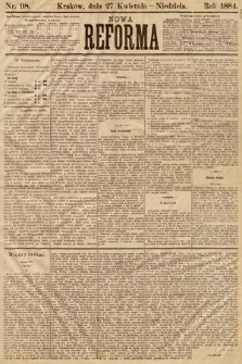 Nowa Reforma. 1884, nr98