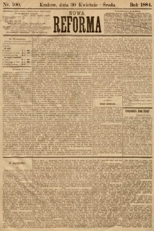Nowa Reforma. 1884, nr100