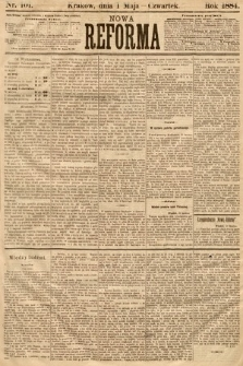 Nowa Reforma. 1884, nr101