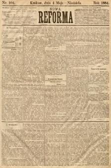 Nowa Reforma. 1884, nr104