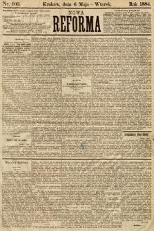 Nowa Reforma. 1884, nr105