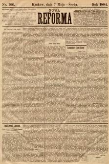 Nowa Reforma. 1884, nr106