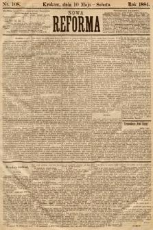 Nowa Reforma. 1884, nr108