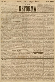 Nowa Reforma. 1884, nr111