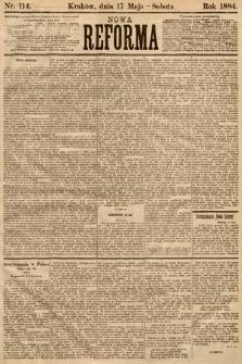 Nowa Reforma. 1884, nr114