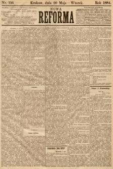 Nowa Reforma. 1884, nr116