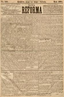 Nowa Reforma. 1884, nr119