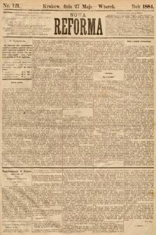Nowa Reforma. 1884, nr121