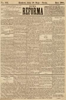 Nowa Reforma. 1884, nr122