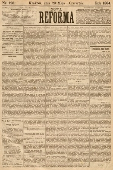 Nowa Reforma. 1884, nr123