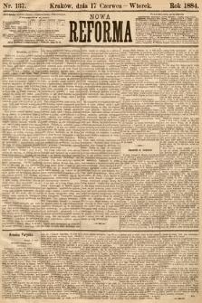 Nowa Reforma. 1884, nr137