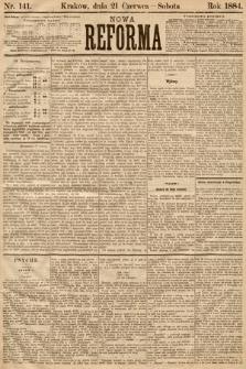 Nowa Reforma. 1884, nr141