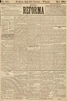 Nowa Reforma. 1884, nr143