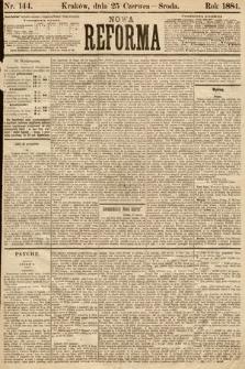 Nowa Reforma. 1884, nr144