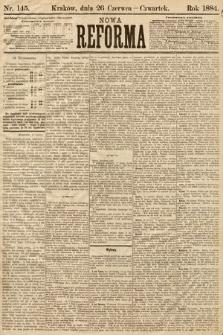 Nowa Reforma. 1884, nr145