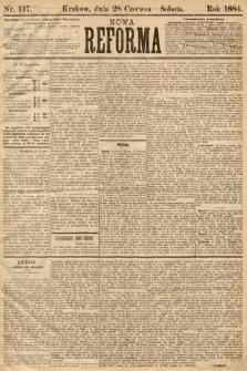 Nowa Reforma. 1884, nr147