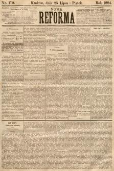 Nowa Reforma. 1884, nr170