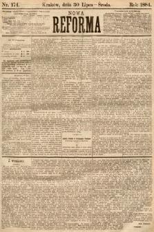 Nowa Reforma. 1884, nr174