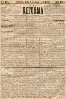 Nowa Reforma. 1884, nr178